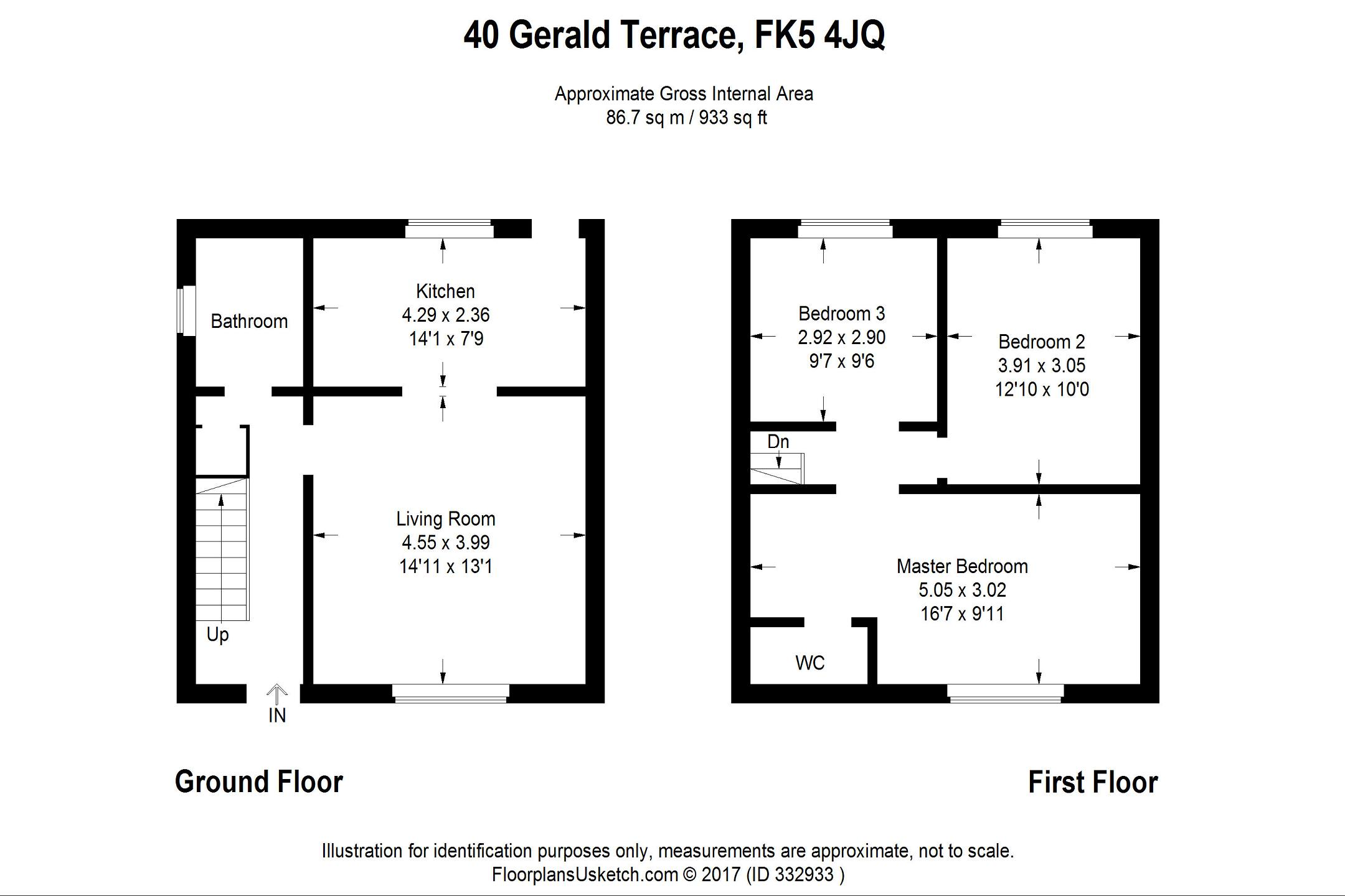 3 bedroom terrace for sale in gerald terrace for 16 royal terrace glasgow