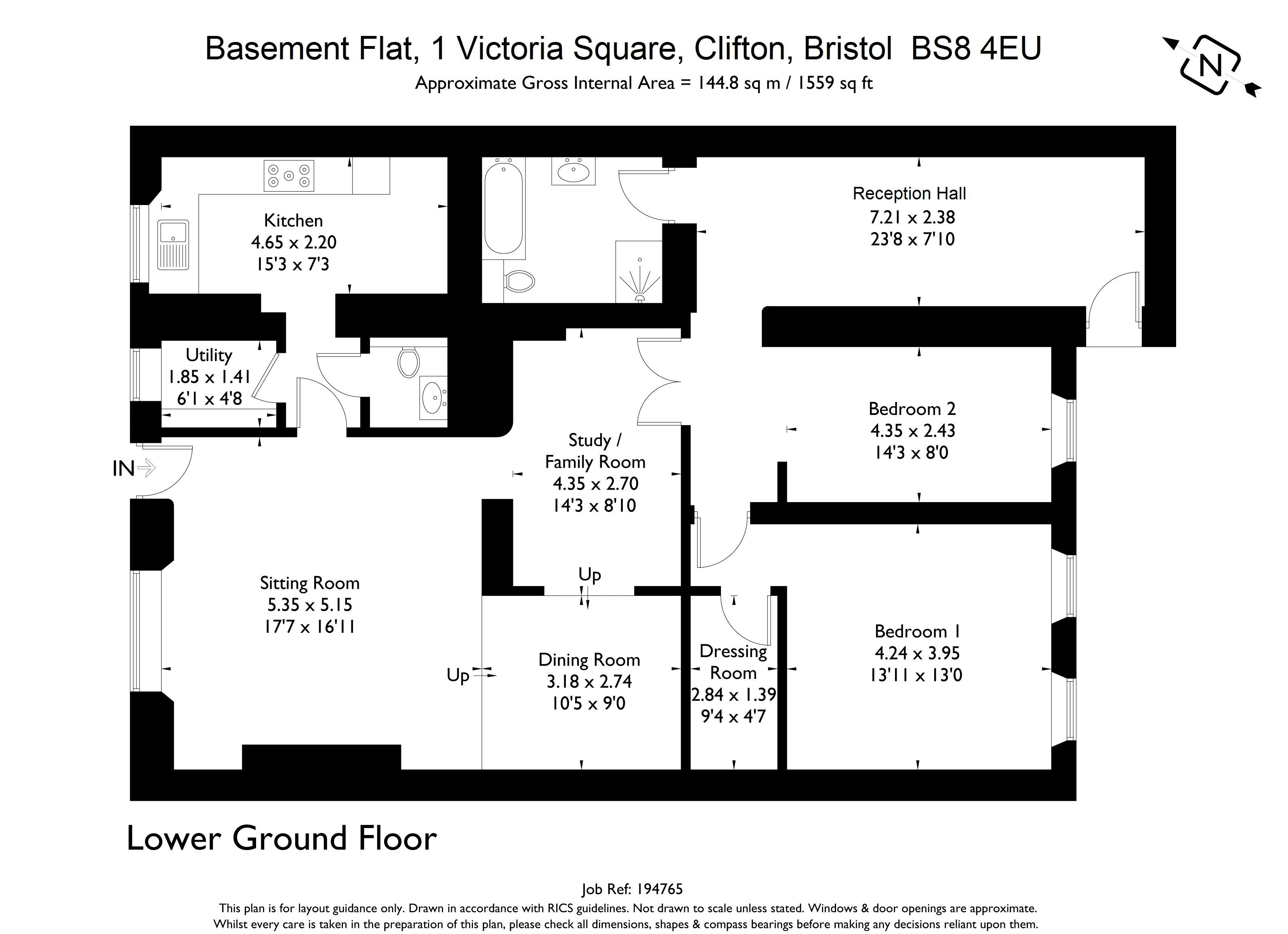 2 bedroom property for sale in Victoria Square, Clifton - Guide ...
