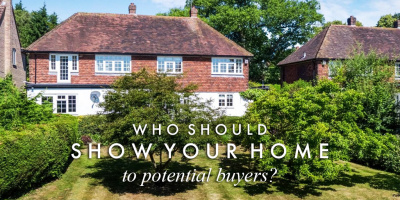 Who should show your home to potential buyers?