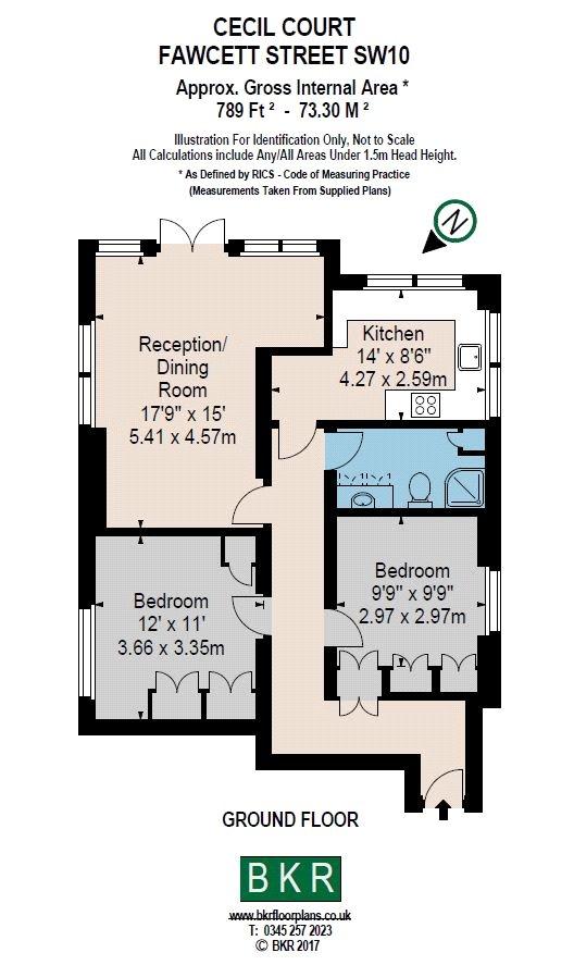 2 bedroom property for sale in cecil court fawcett street for 11 brunel crt floor plan