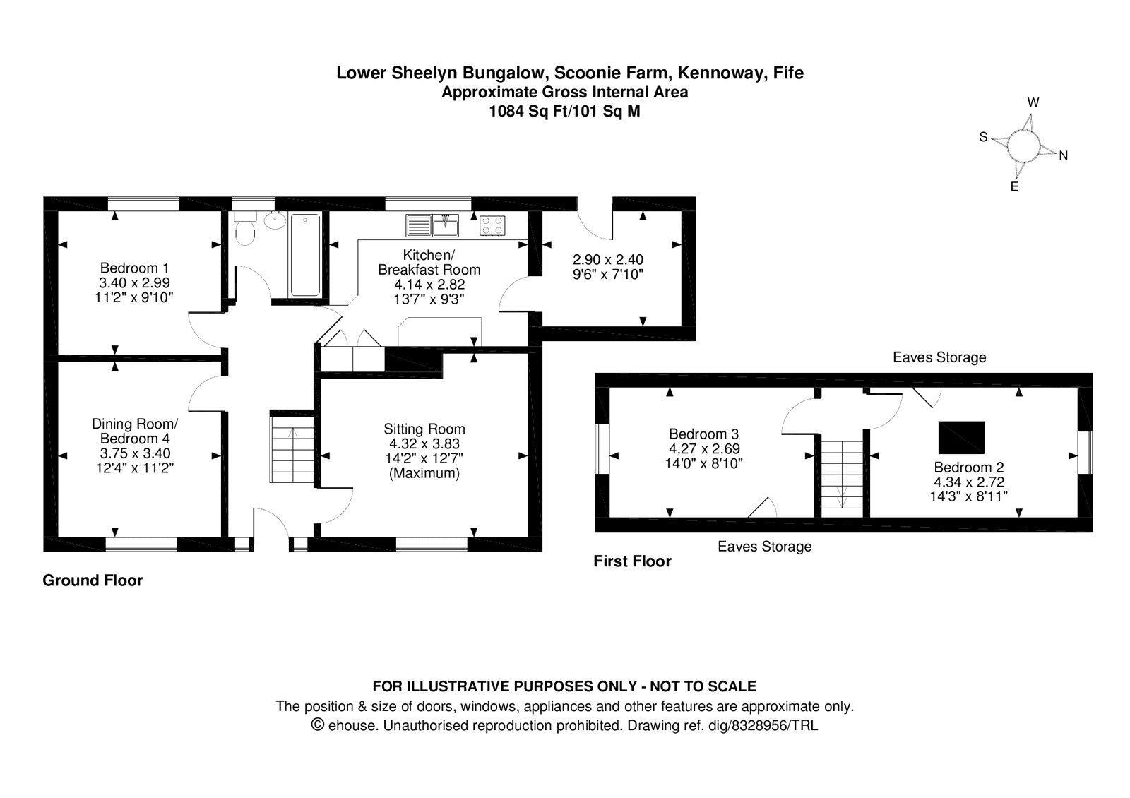 Floorplans for Kennoway, Fife, KY8