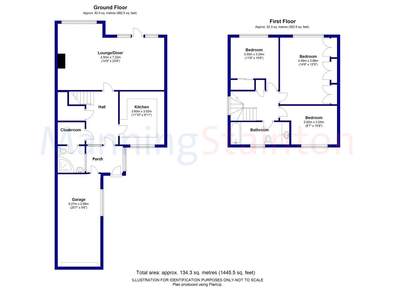 3 bedroom property for sale in Harewood Mews Harewood Leeds LS17 – Harewood House Floor Plan