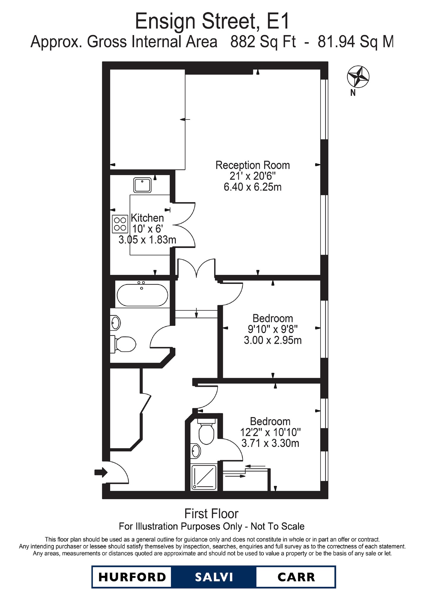 Ensign Street, E1 floorplan