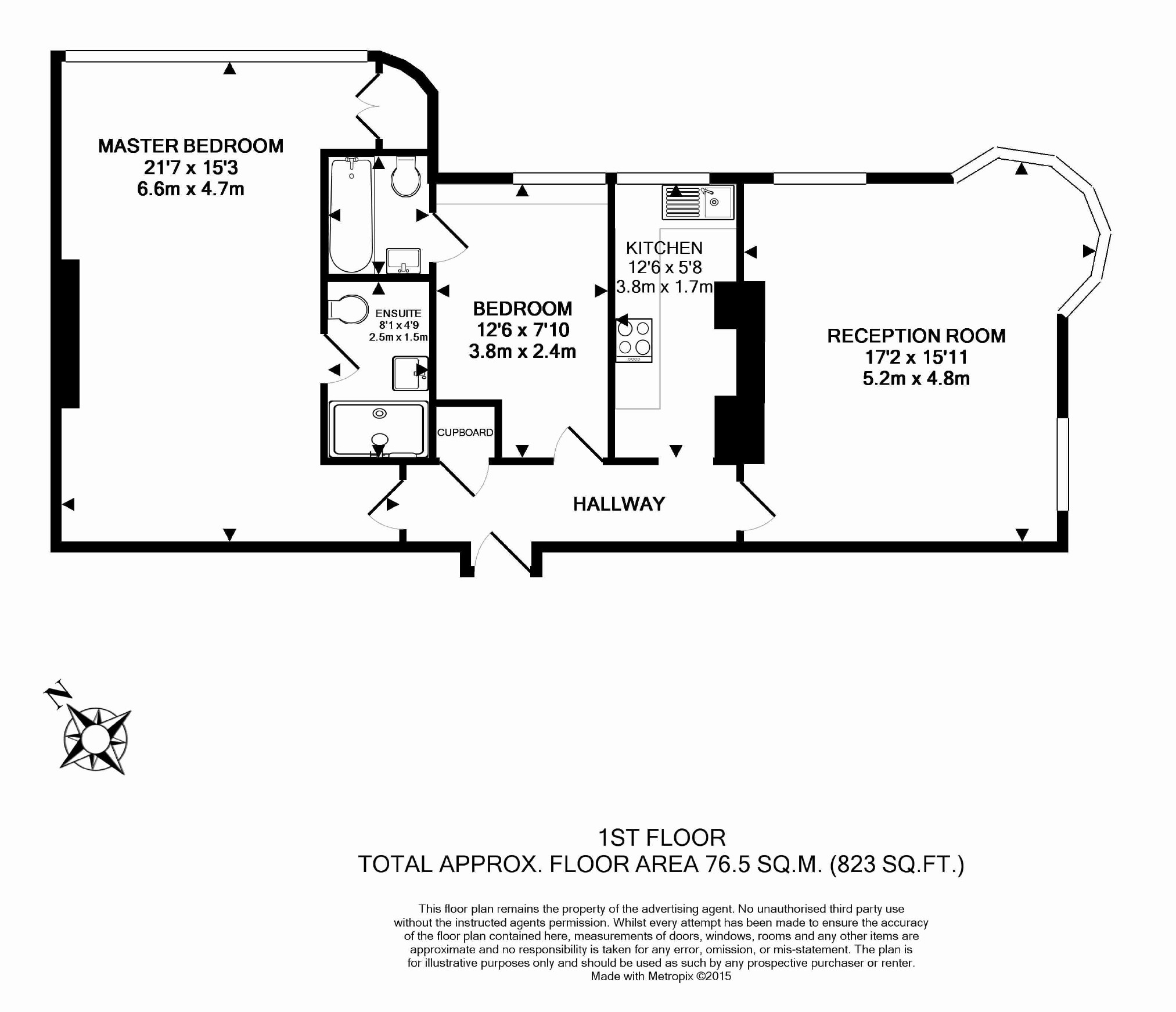 Bedford Court Mansions, Adeline Place, Bloomsbury, WC1B floorplan