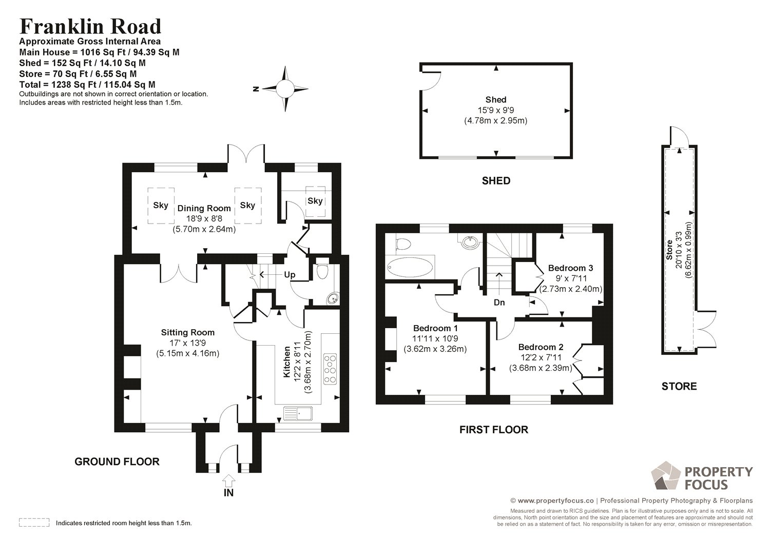 3 Bedroom Property For Sale In Franklin Road Twyford Winchester Stove Diagram Guide Price 325000 Freehold