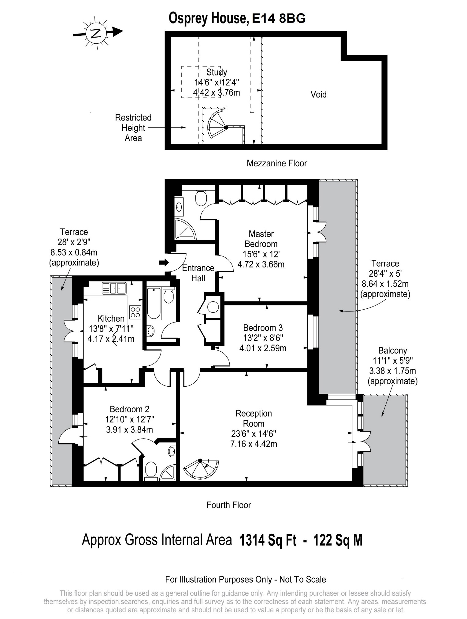 Osprey House, Victory Place, London, E14 floorplan