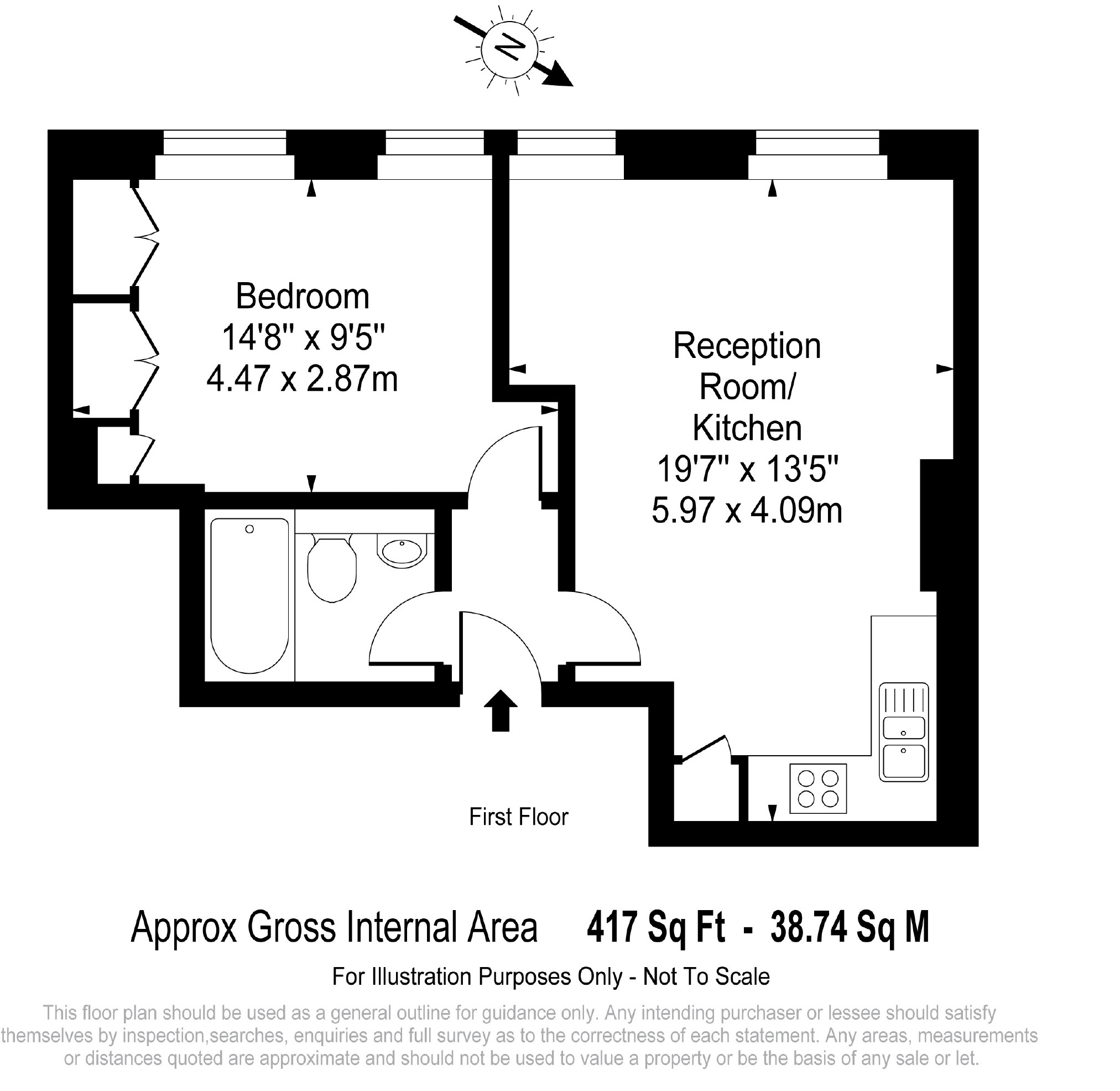 Newman Street, London, W1T floorplan