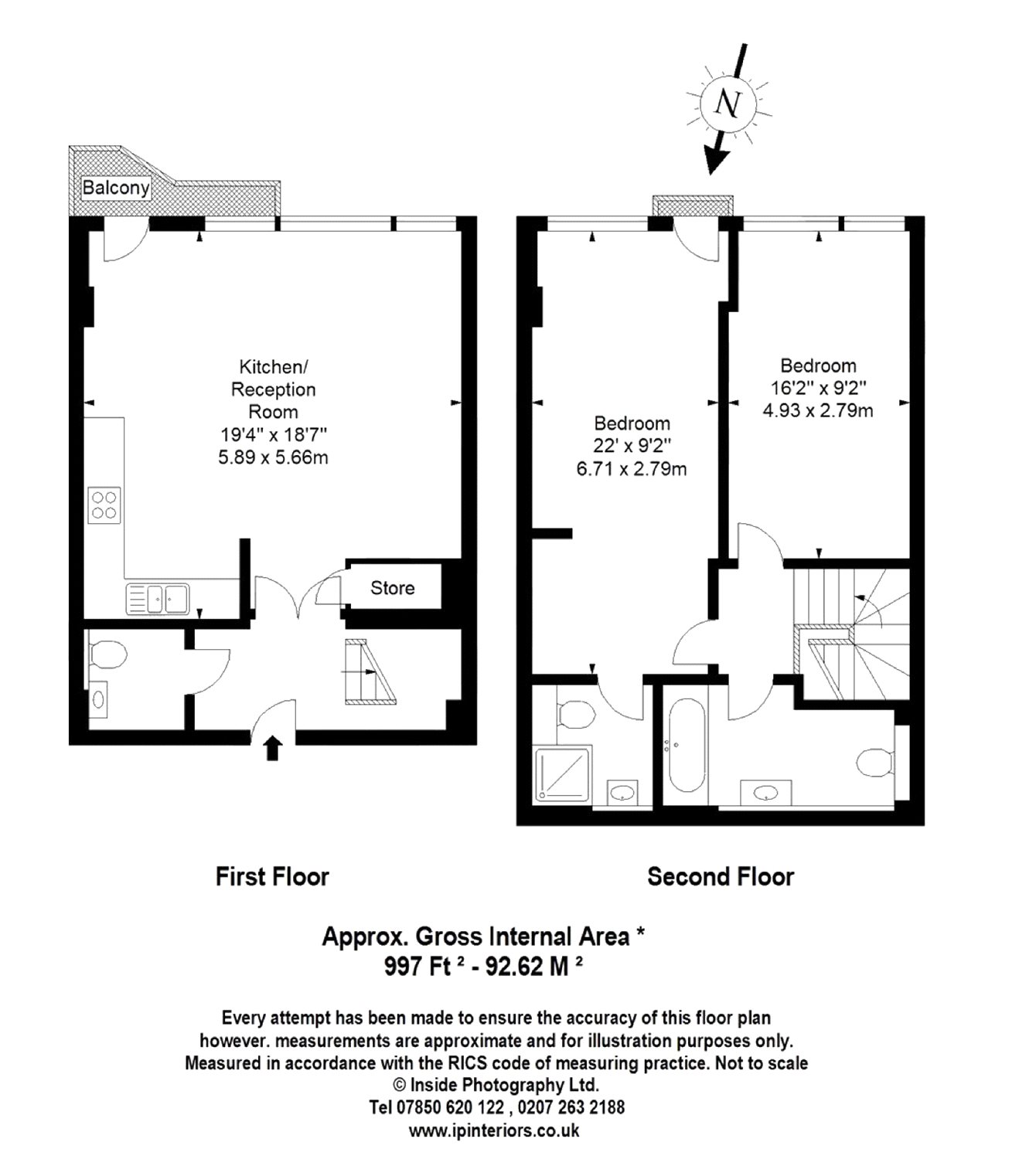 Micawber Street, London, N1 floorplan