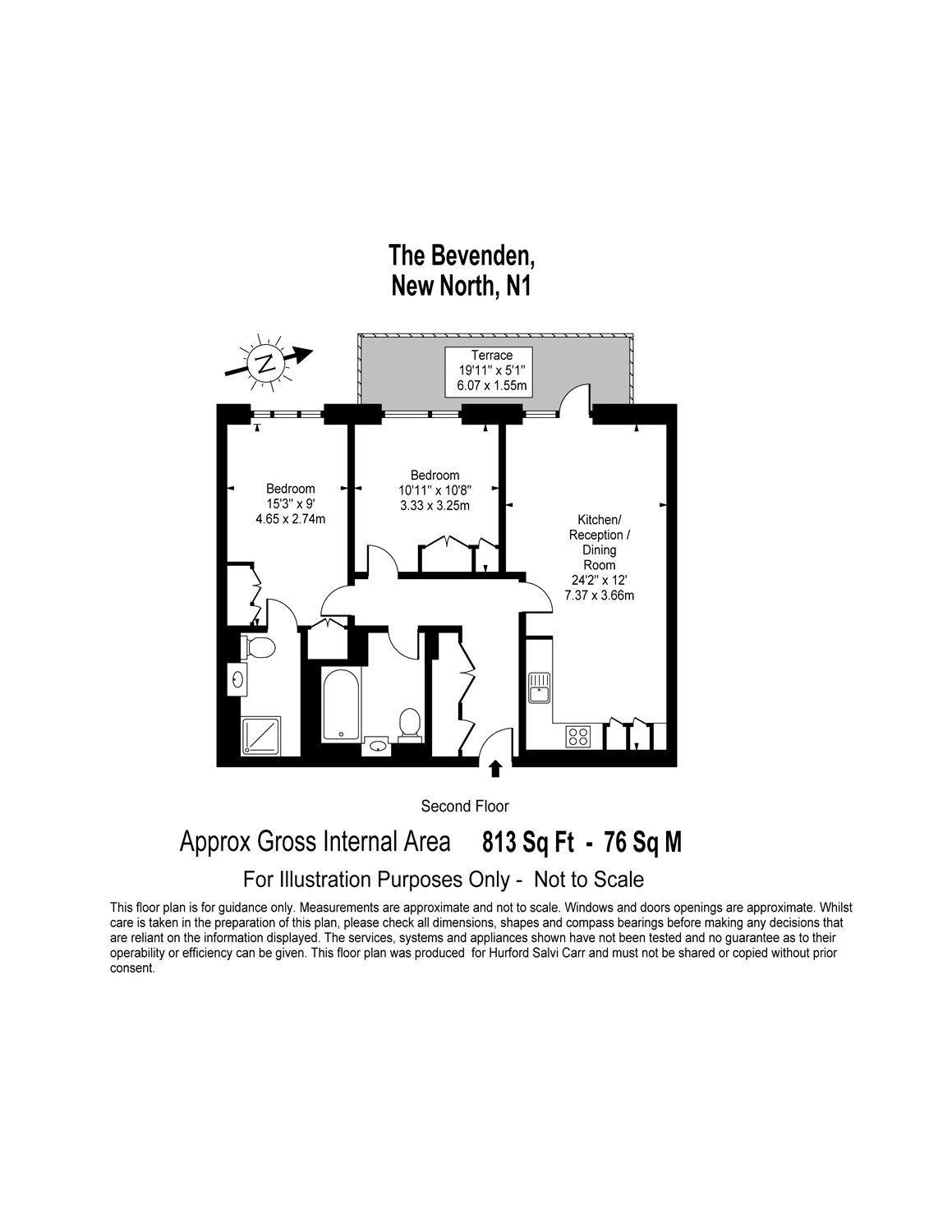 New North Road, Shoreditch, London, N1 floorplan