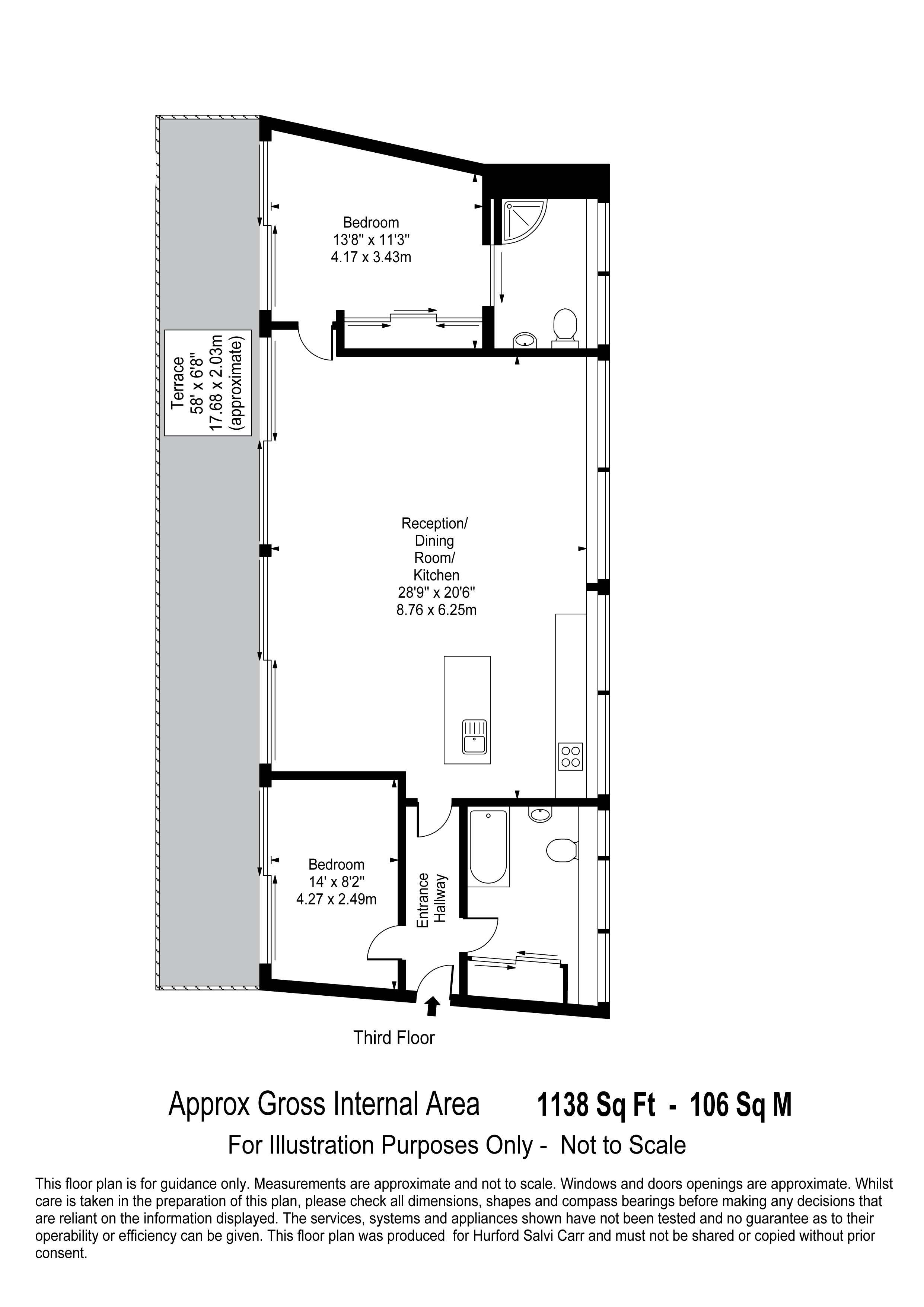 St John Street, London, EC1V floorplan