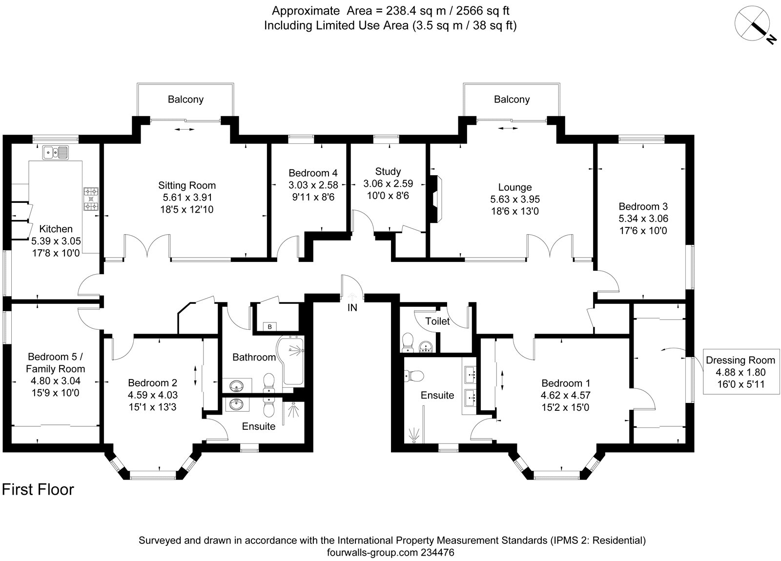 Floorplans for Henderland Road, Bearsden, G61