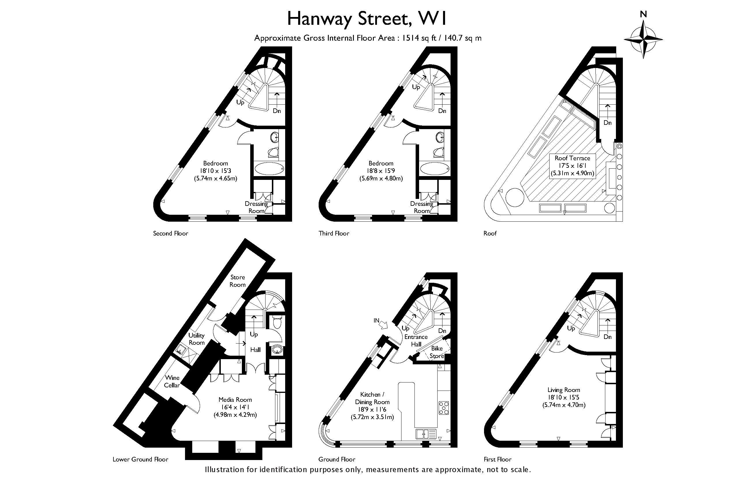 Hanway Street, London, W1T floorplan