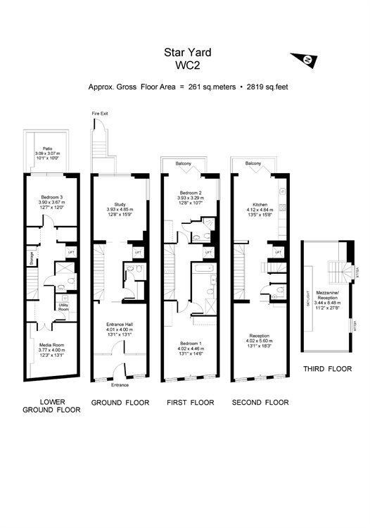 Chancery Lane, Holborn, London, WC2A floorplan