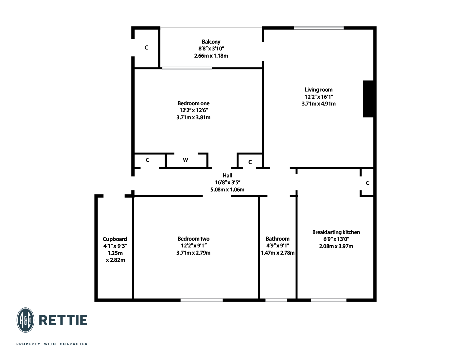 Floorplans for Mingarry Street, North Kelvinside, Glasgow, G20