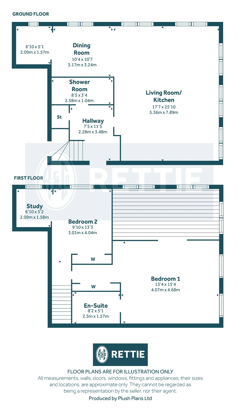 Floorplans for Cecil Street, Hillhead, Glasgow, G12