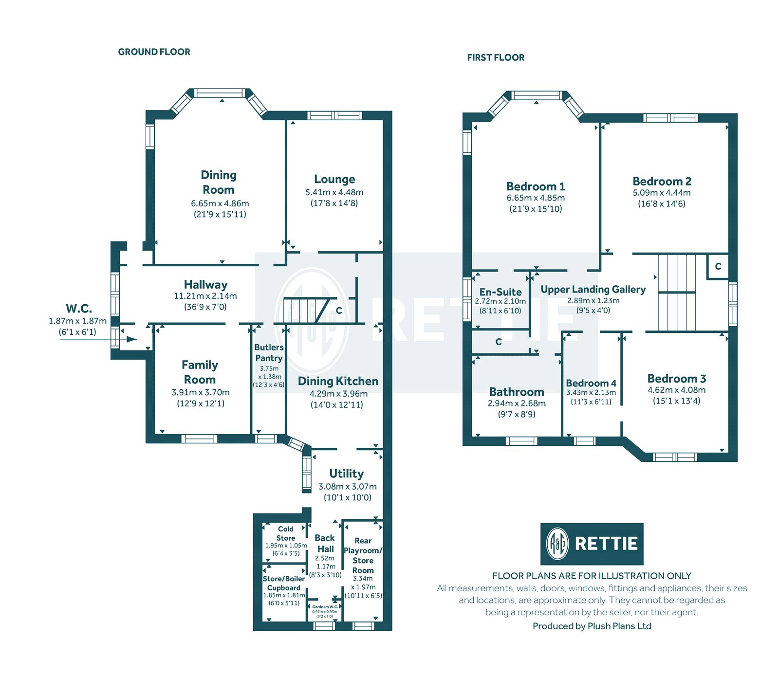Floorplans for Victoria Park Gardens South, Broomhill, Glasgow, G11