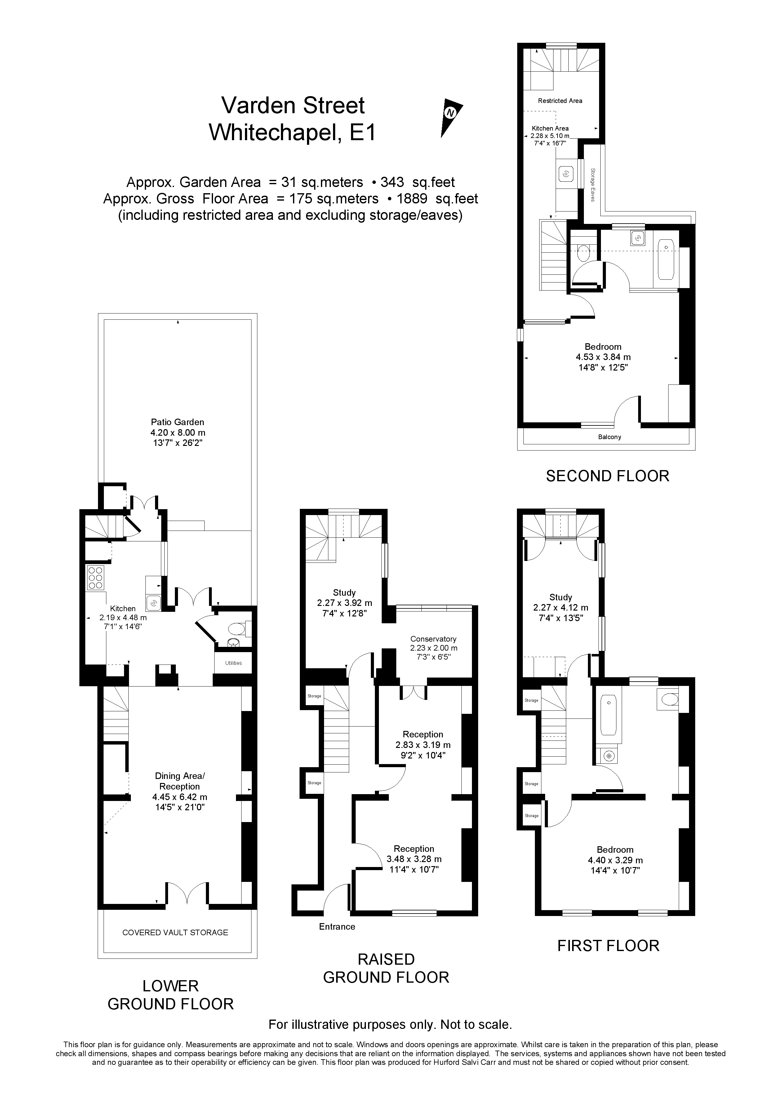 Varden Street, London, E1 floorplan