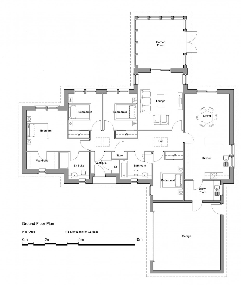 Floorplans for The Leet - Everly Meadows, Coldstream Road, Swinton, TD11