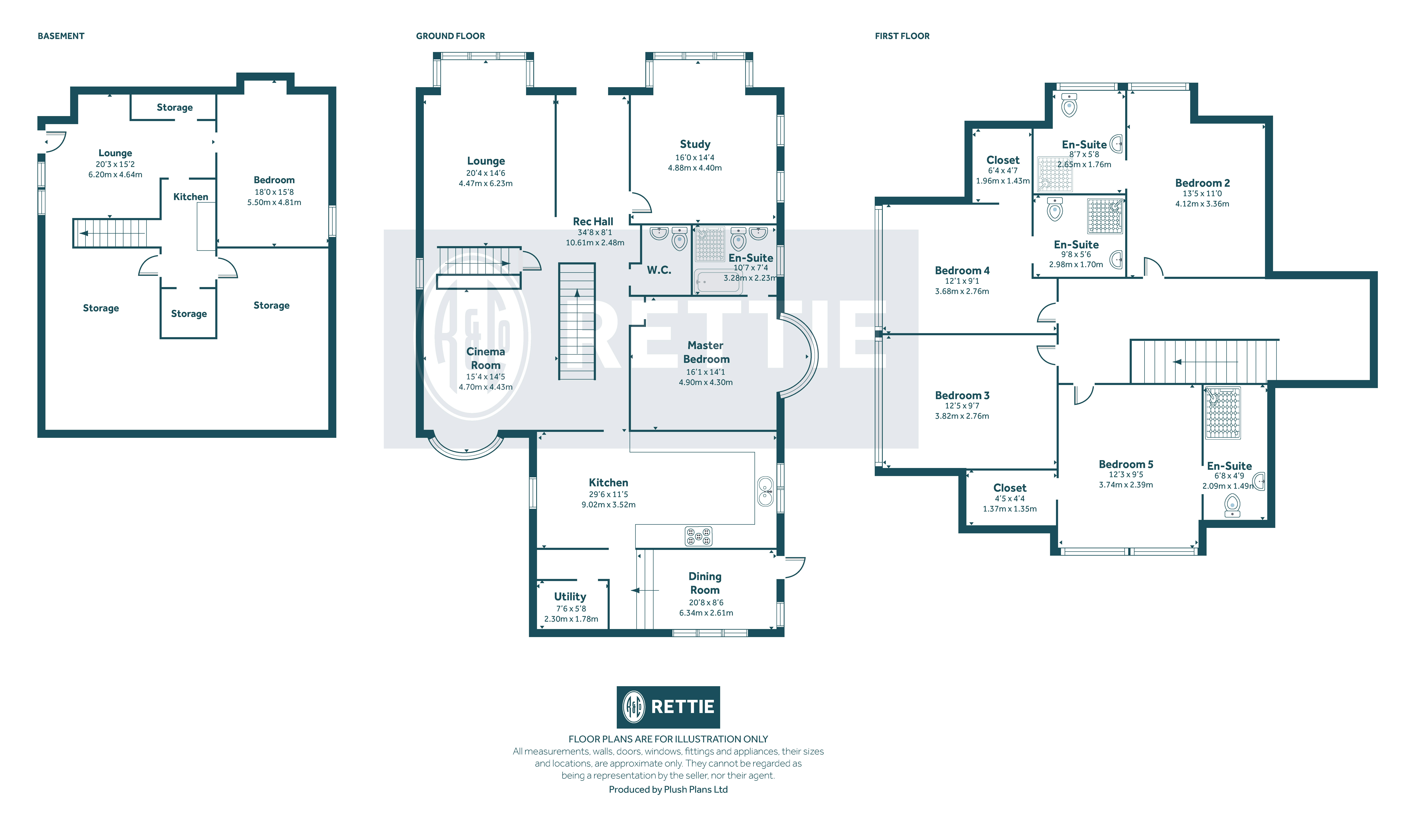 Floorplans for Ayr Road, Newton Mearns, Glasgow, G77