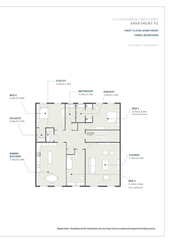 Floorplans for Cleveden Crescent, Cleveden, Glasgow, G12