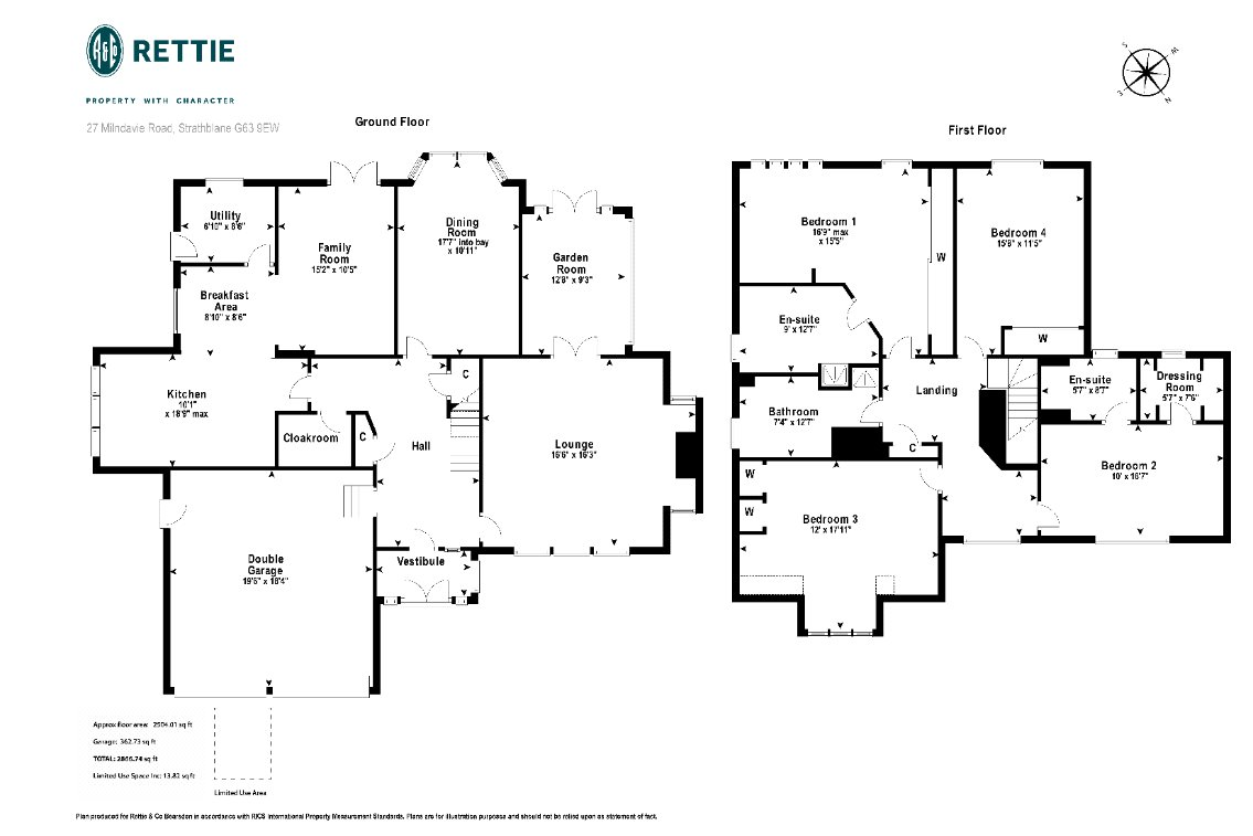 Floorplans for Milndavie Road, Strathblane, G63