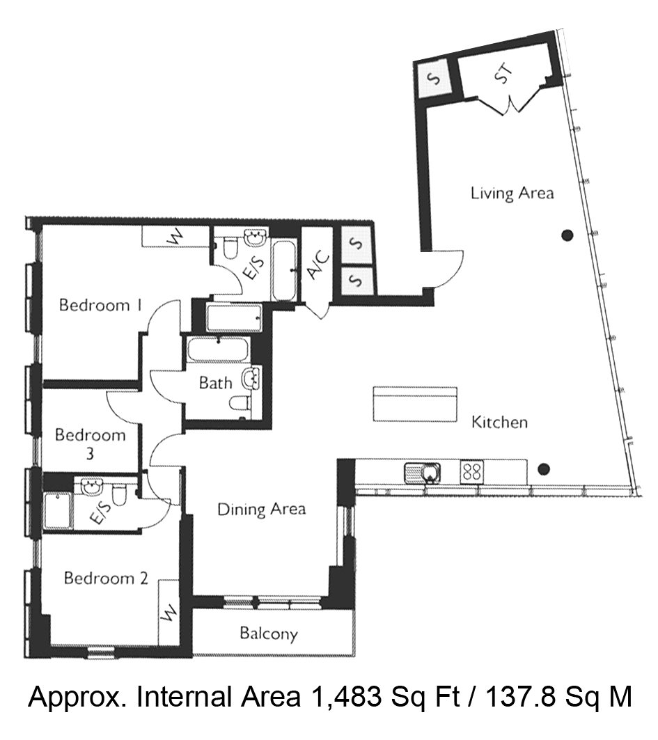 Avantgarde Place, London, E1 floorplan