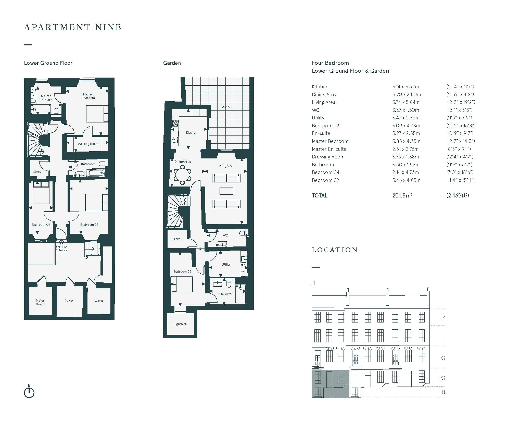 Floorplans for 36A Great King Street, Edinburgh, Midlothian, EH3
