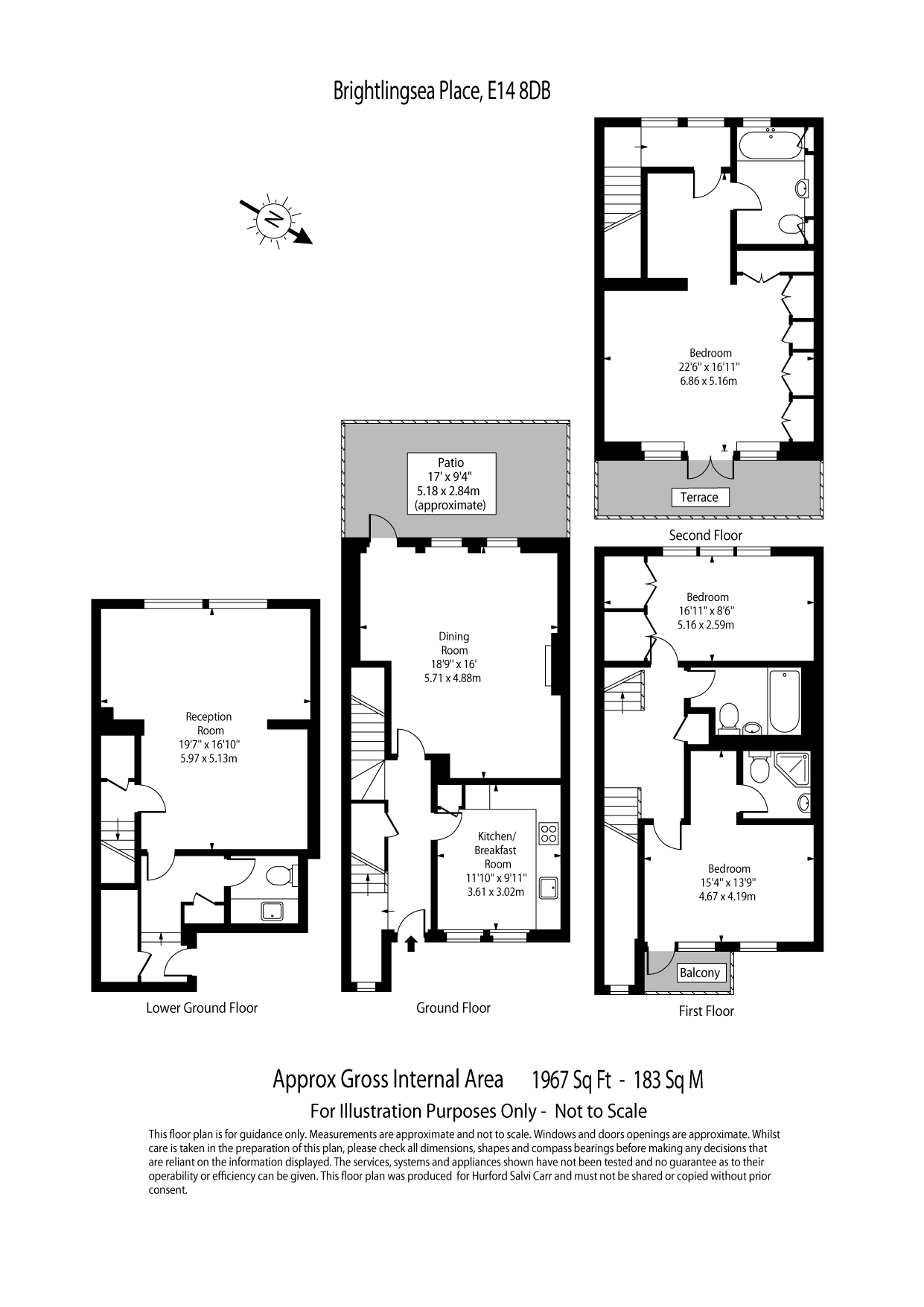 Brightlingsea Place, Limehouse, E14 floorplan