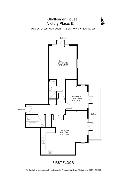 Victory Place, Northey Street, London, E14 floorplan