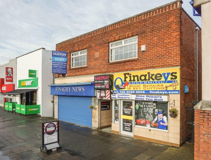 Property To Let In 139 Upper Lisburn Road Belfast Bt10 1000 Pcm