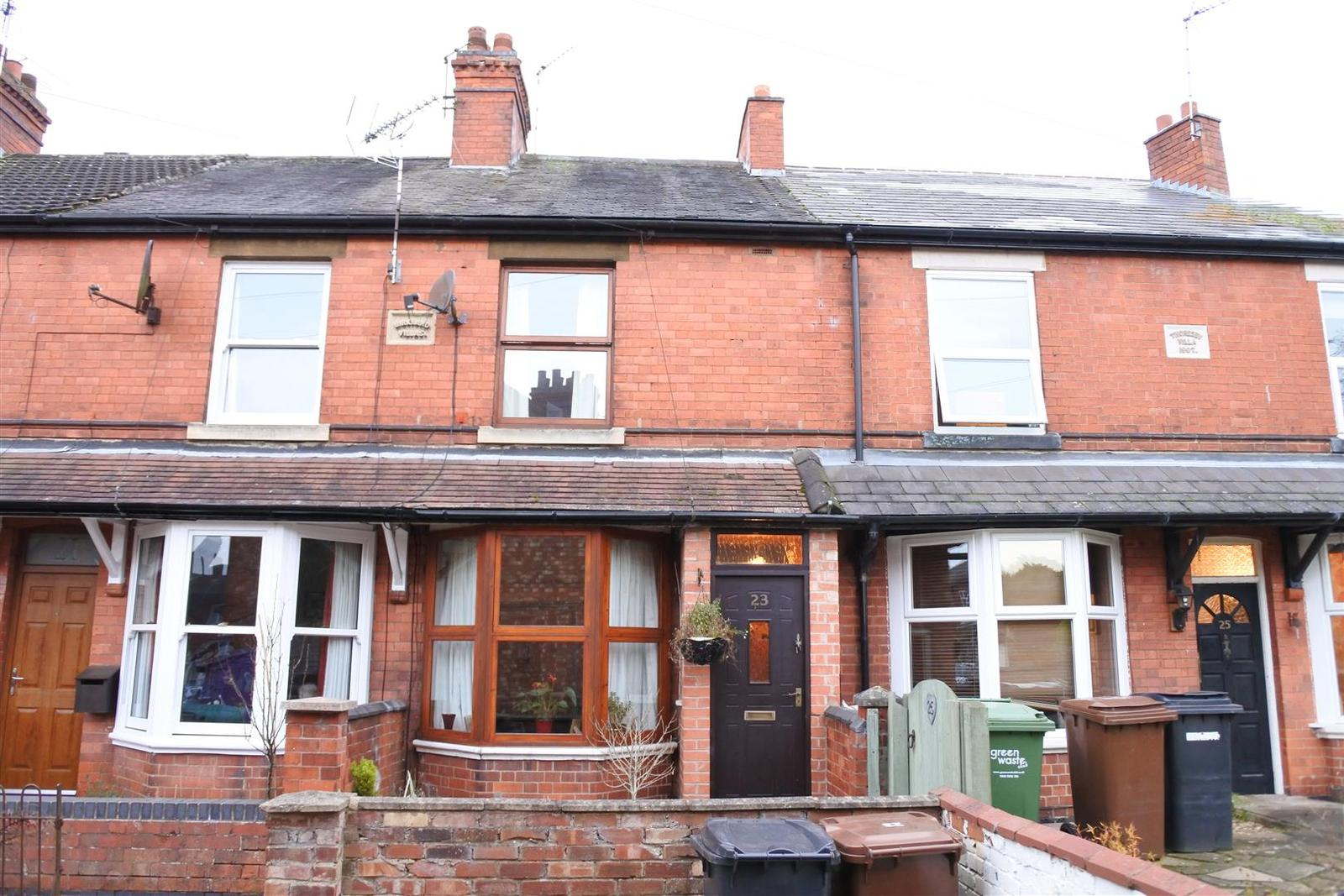 2 Bedrooms Terraced House for sale in Quorn Avenue, Melton Mowbray