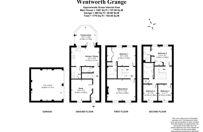 4 bedroom property to rent in wentworth grange  winchester
