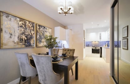 New apartments in the centre of Dorking