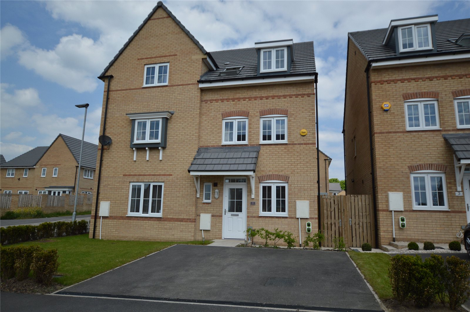 Property for sale in Morley, exterior detached, three floor home