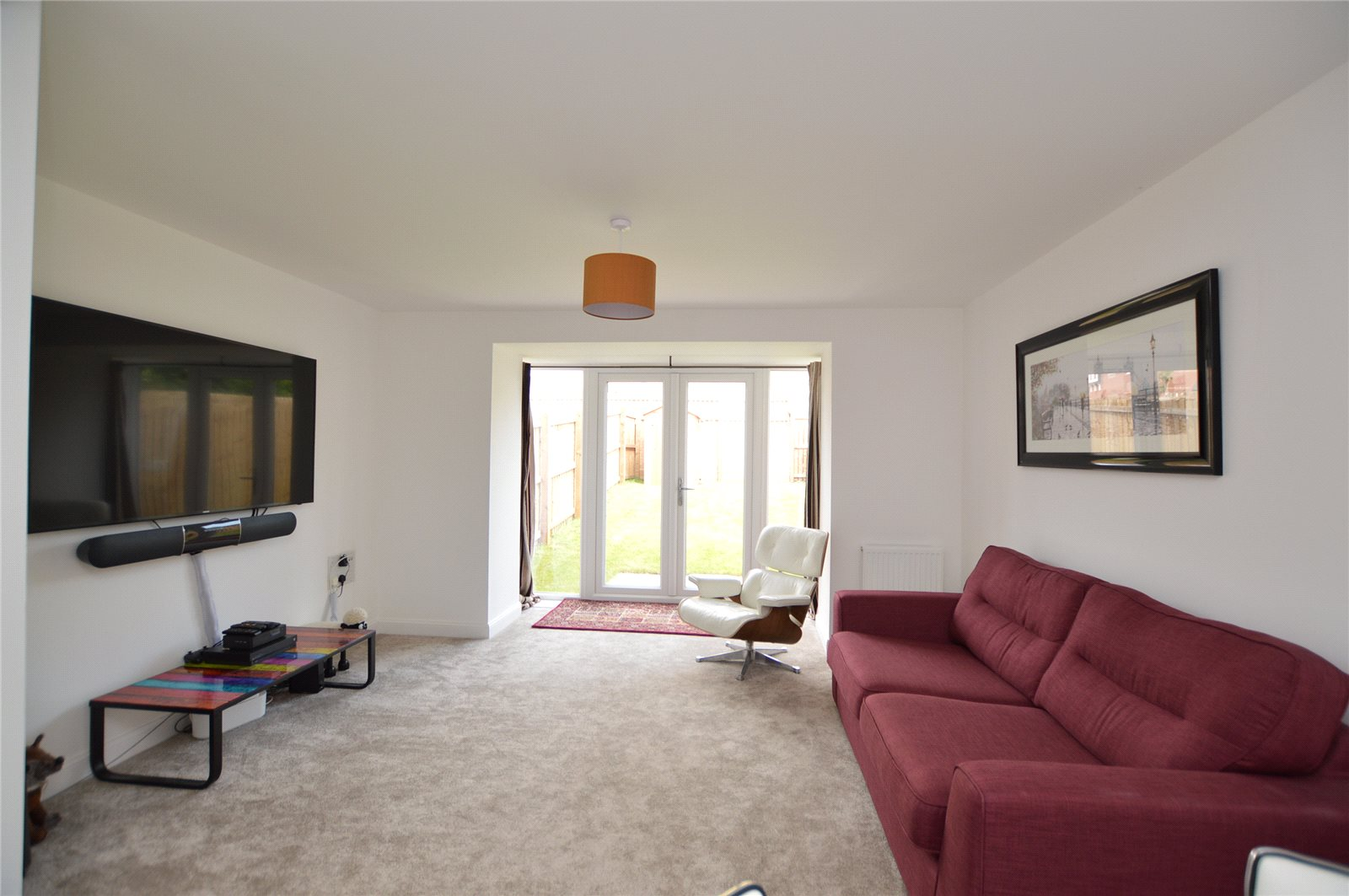 Property for sale in Morley, spacious living room
