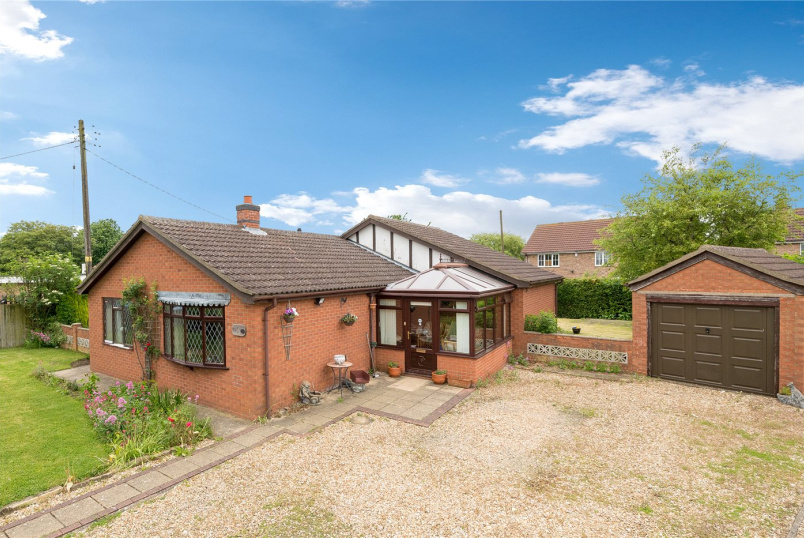 Bungalow new instruction - Crane Close, Cranwell Village, Sleaford, NG34
