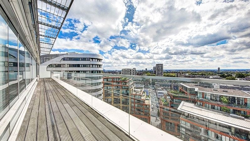 Flat/apartment to let - Merchant Square East, London, W2
