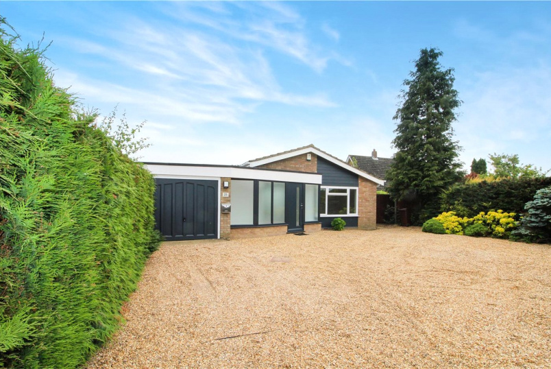 Bungalow new instruction - Brecon Road, Brooke, Norwich, NR15