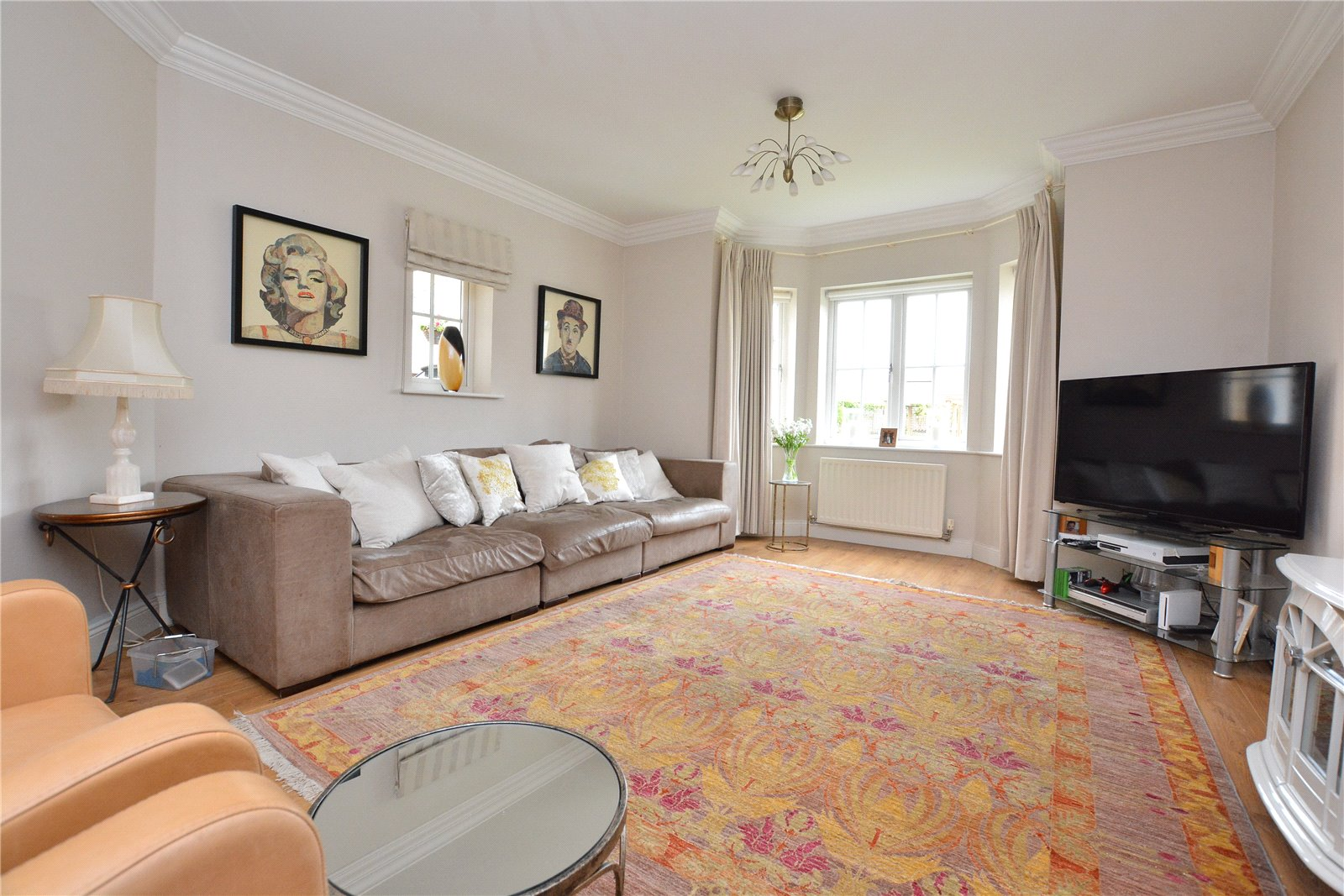 property for sale in Wetherby, living room space