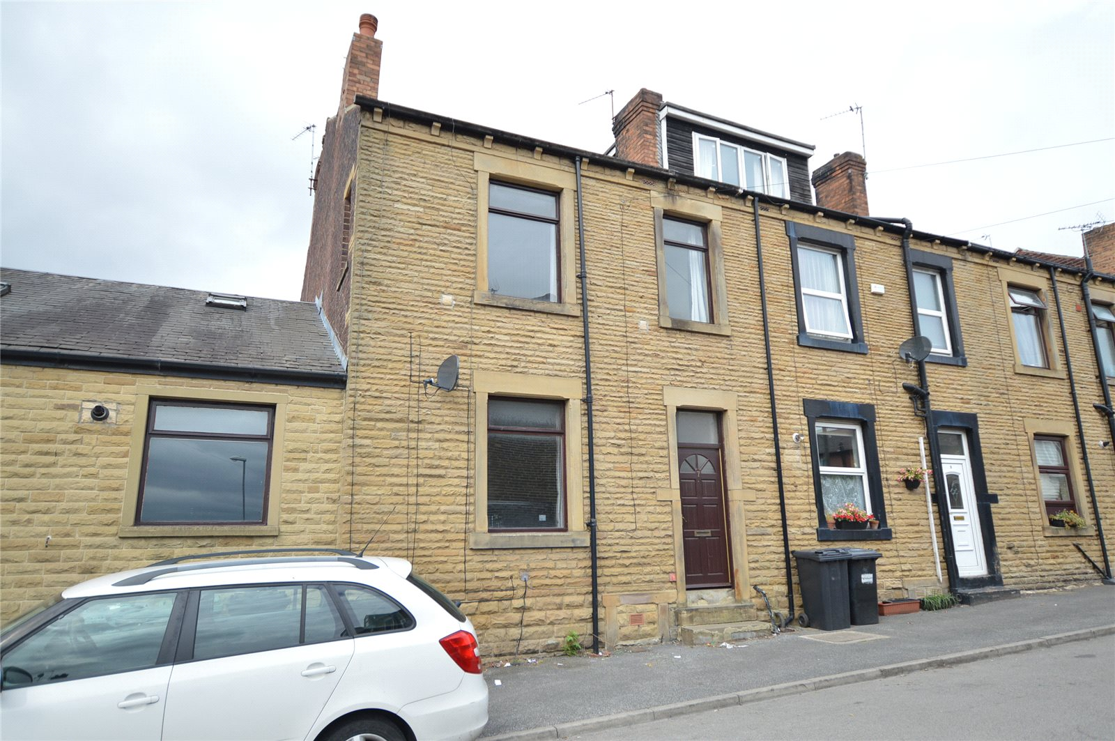 Property for sale in Morley, terraced house exterior