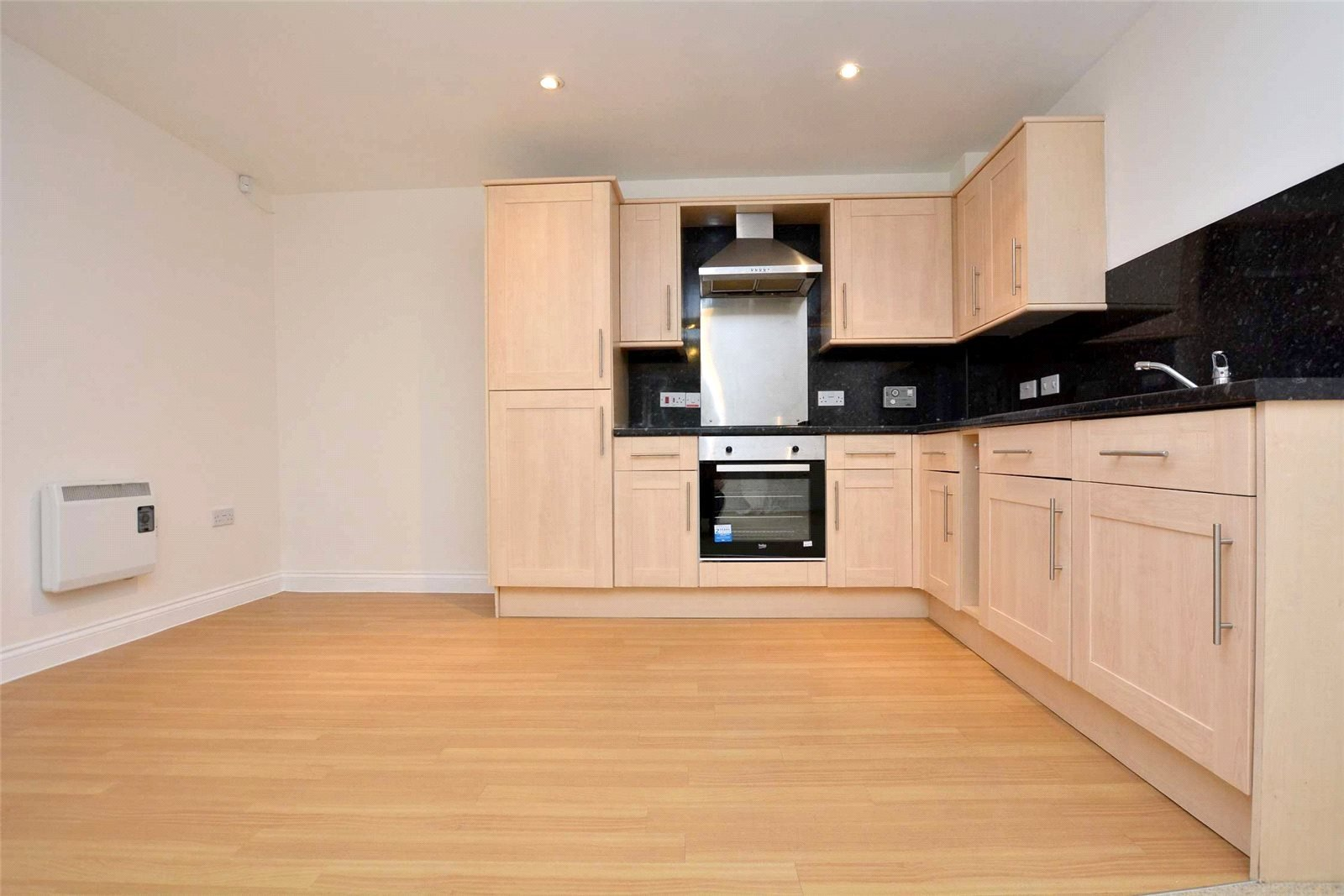 Property for sale in pudsey, interior of spacious kitchen