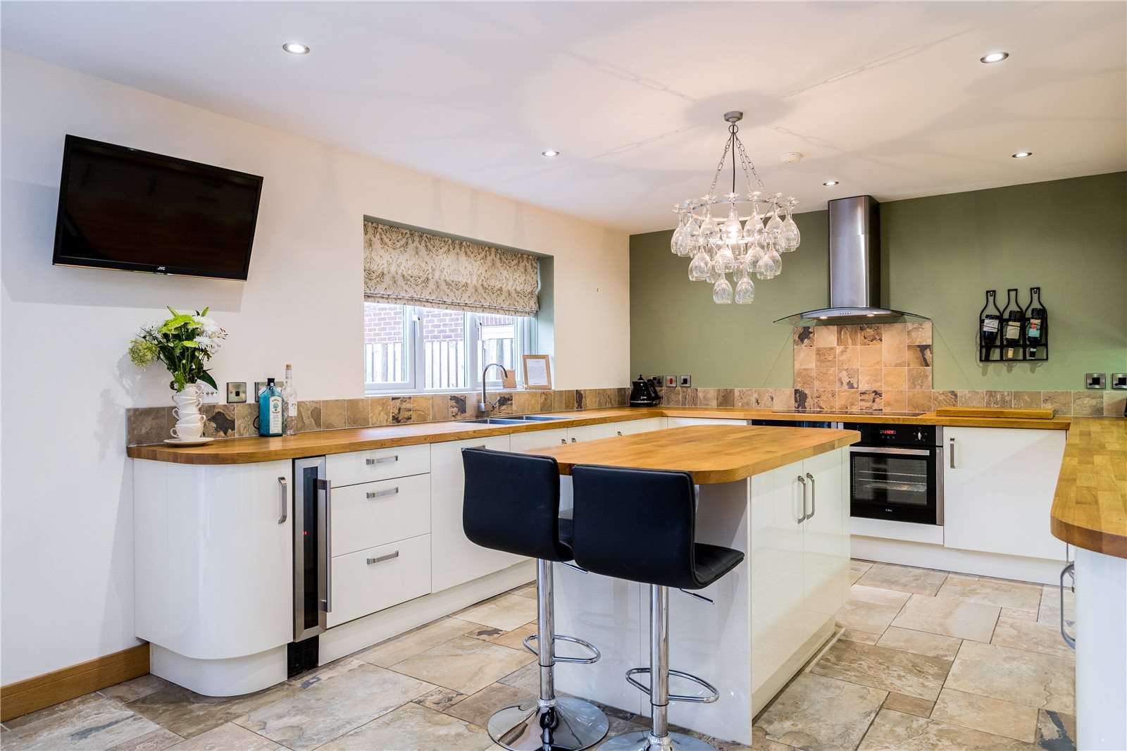 property for sale in Garforth, interior fitted modern kitchen