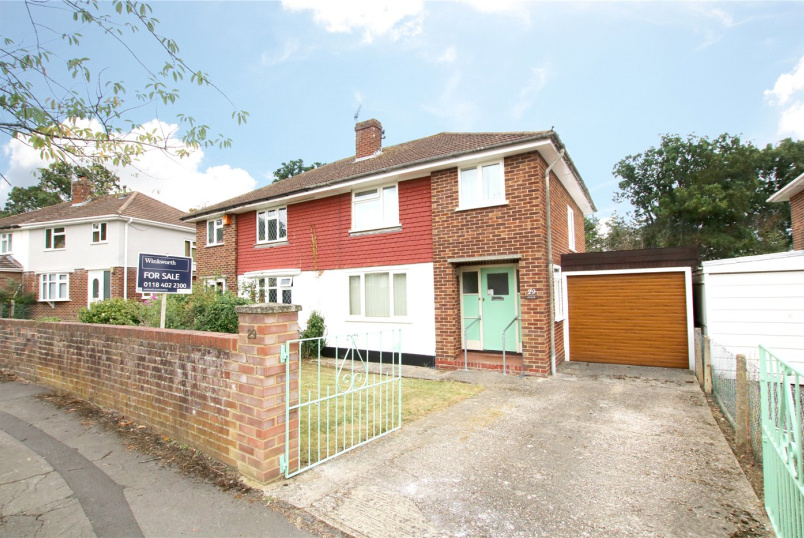 House for sale in Reading - Haywood Way, Tilehurst, Berkshire, RG30