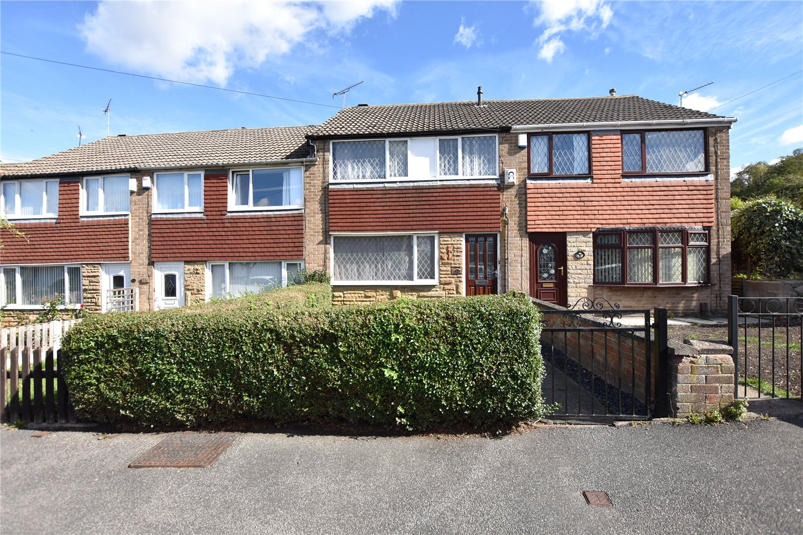 property for sale in Beeston, exterior of terraced home