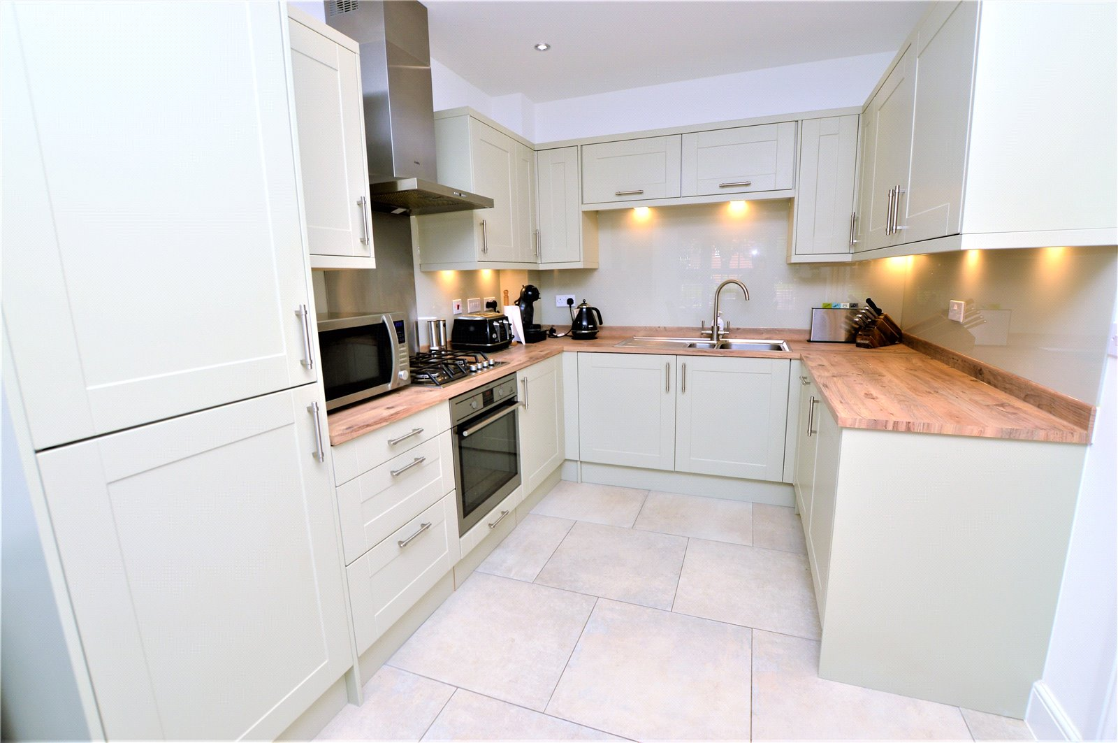 property for sale in Wetherby, interior fitted modern kitchen