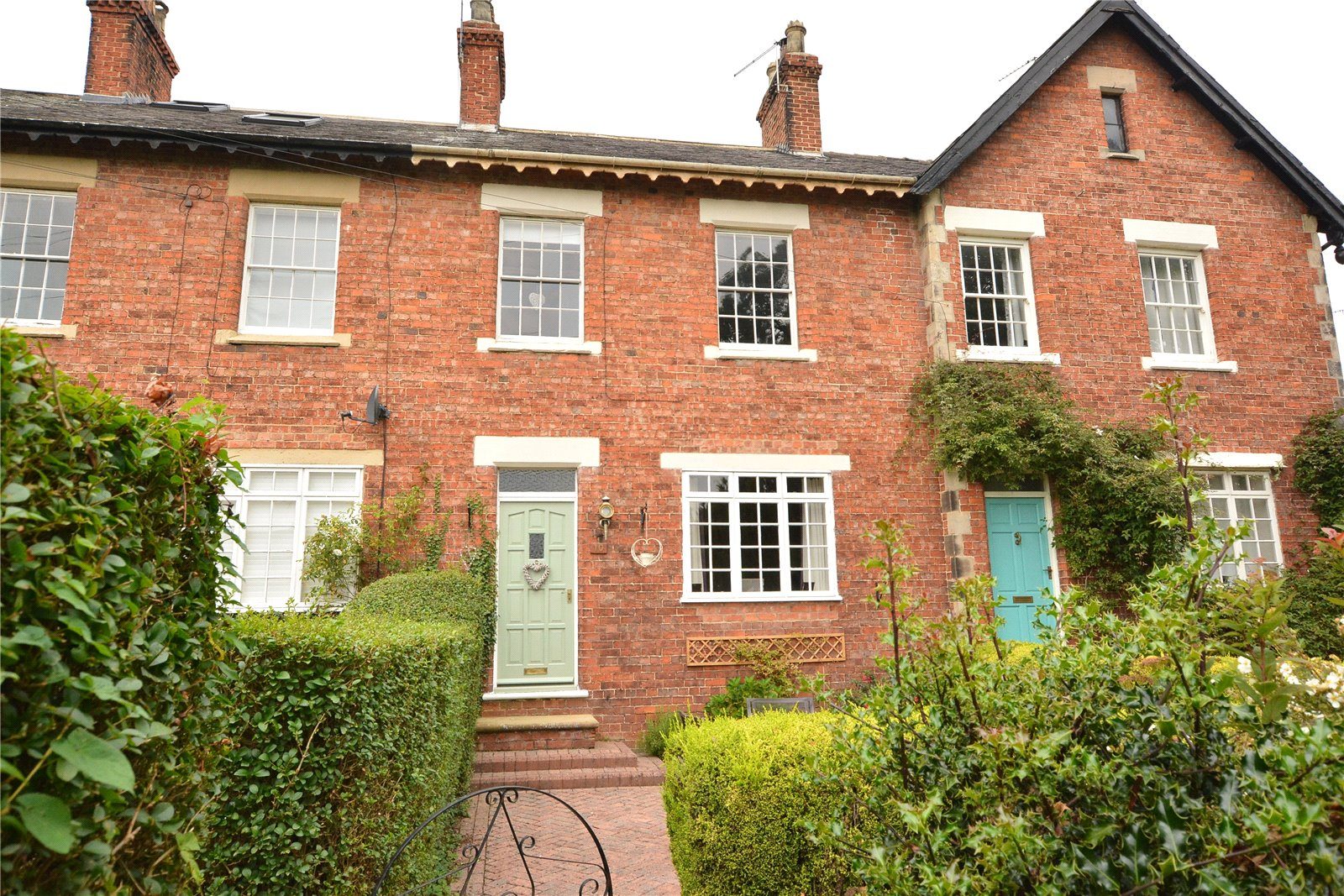 Property for sale in Wetherby, exterior terraced house