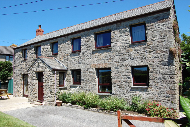 Barn conversion for sale in Fowey - Trethurgy, St Austell, Cornwall, PL26