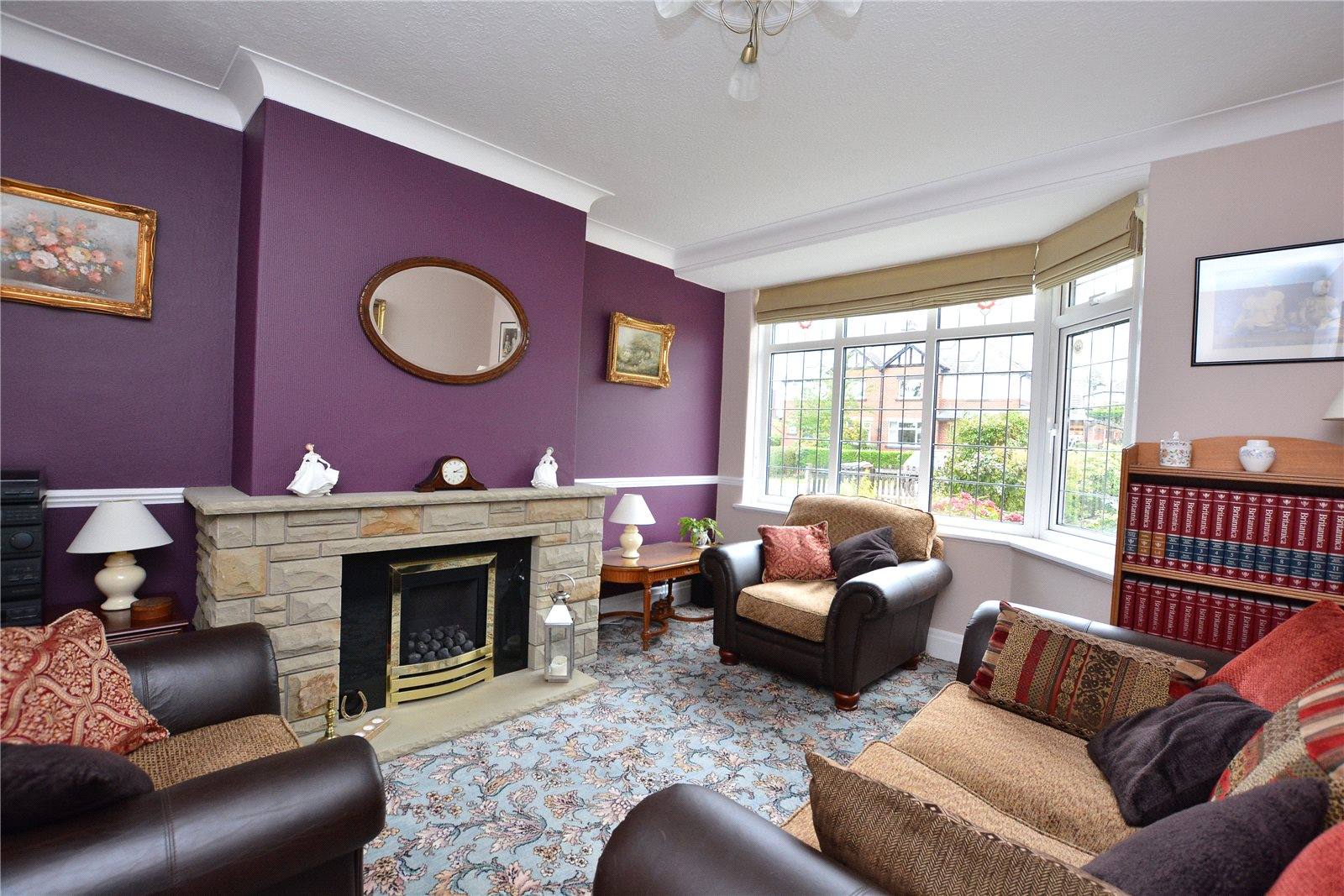 property for sale in Horsforth, interior, reception room