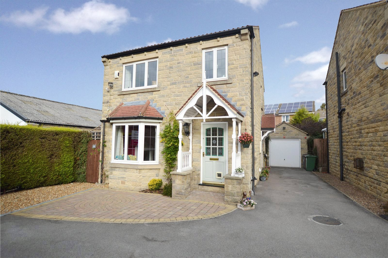 property for sale in Pudsey, exterior sandstone detached house