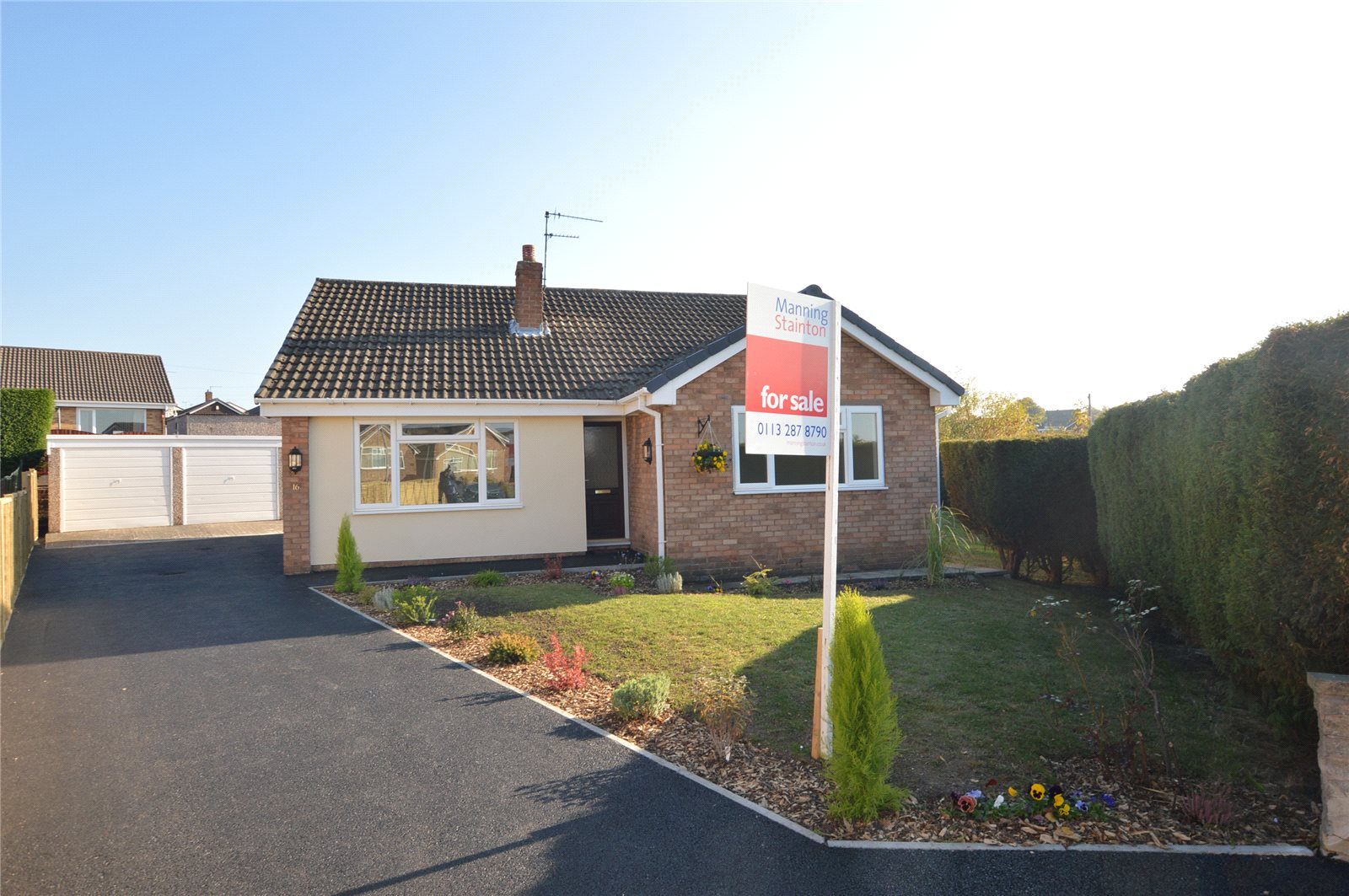 Property for sale in Garforth, exterior bungalow